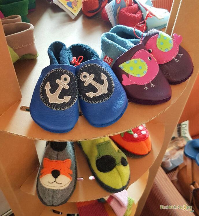 Pololo Kinderschuhe Schuhe Hausschuhe Lederpuschen Lederschuhe Krabbelpuschen
