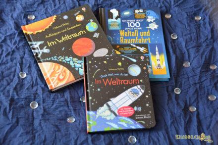 Weltall, Raumfahrt und der Usborne Verlag + Verlosung