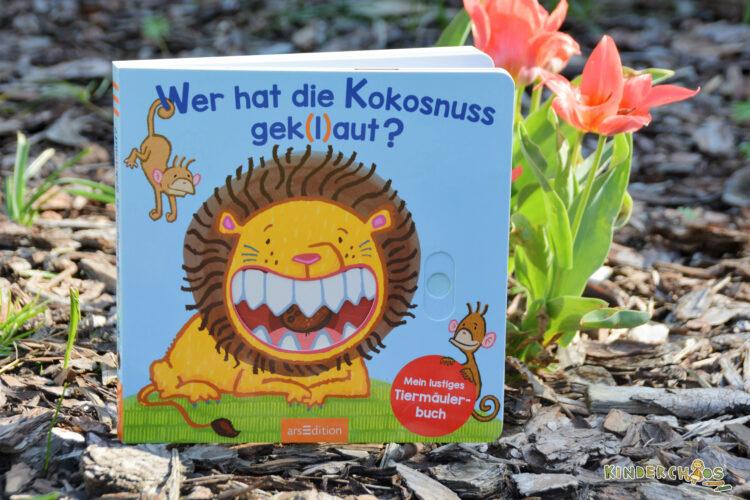 Wer hat die Kokosnuss gek(l)aut? arsEdition Thorsten Saleina Kinderbuch Bilderbuch Pappbilderbuch