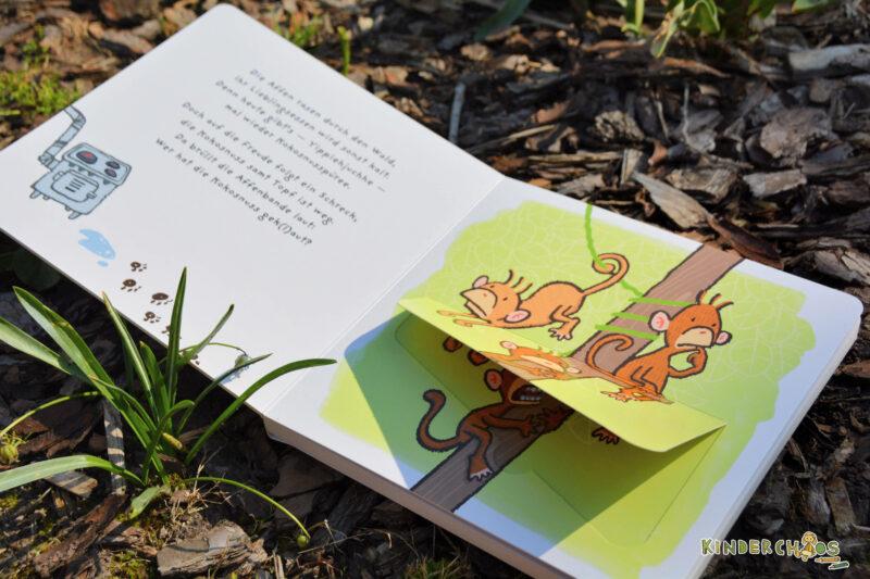 Wer hat die Kokosnuss gek(l)aut Kinderbuch