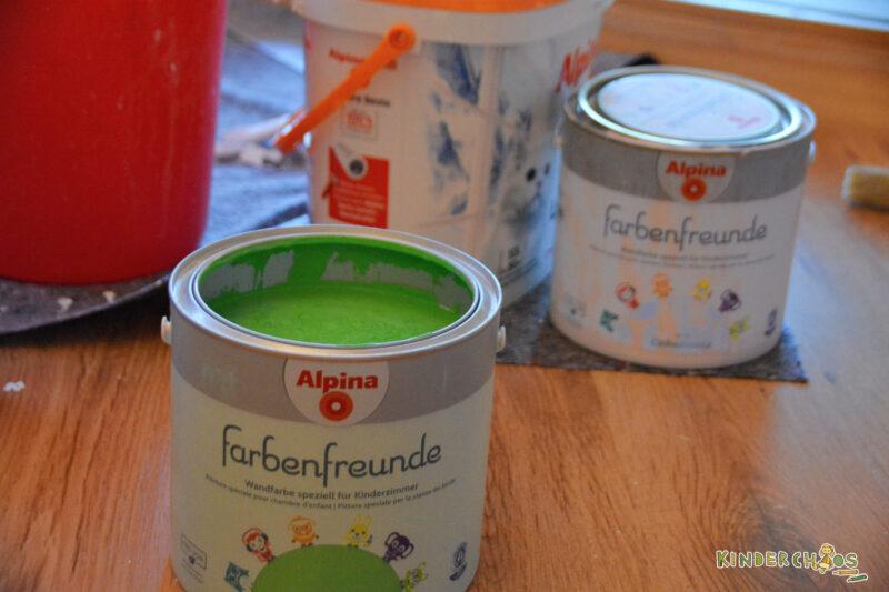 Alpina Farben Froschgrün
