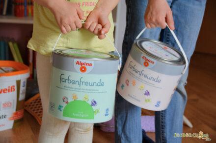 Wir renovieren mit den Alpina Farbenfreunden: Aus Leonies Kinderzimmer wird ein Schulzimmer!