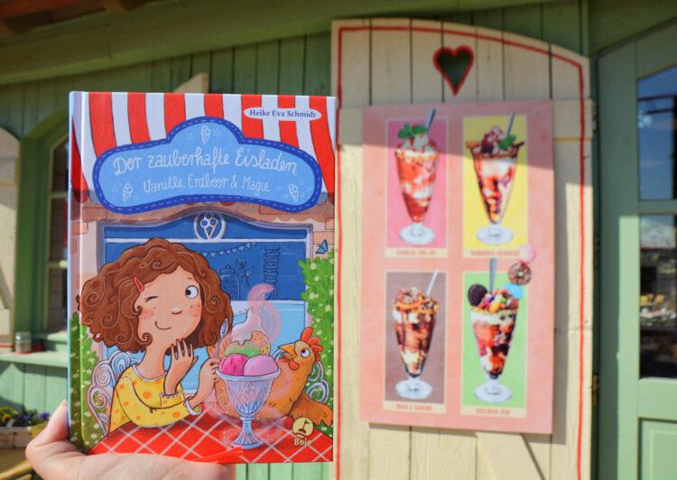 Der zauberhafte Eisladen - Vanille, Erdbeer & Magie Kinderbuch Kinderbücher