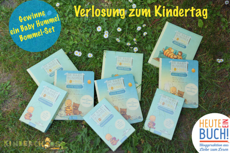 Internationaler Kindertag Die Baby Hummel Bommel Erste Reime Milestone Meilenstein-Karten Gute Nacht Kinderbuch Bilderbuch Kleinkind Baby Heute ein Buch!: Bloggeraktion aus Liebe zum Lesen