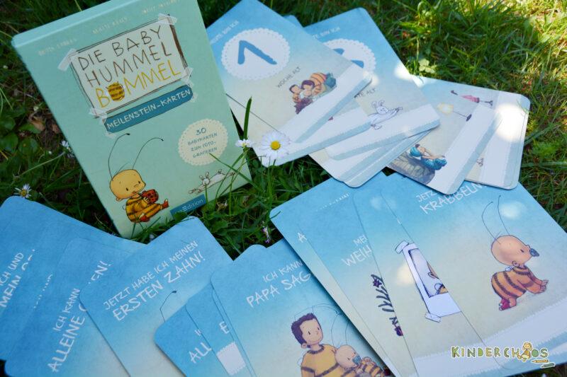 Die Baby Hummel Bommel Meilenstein-Karten