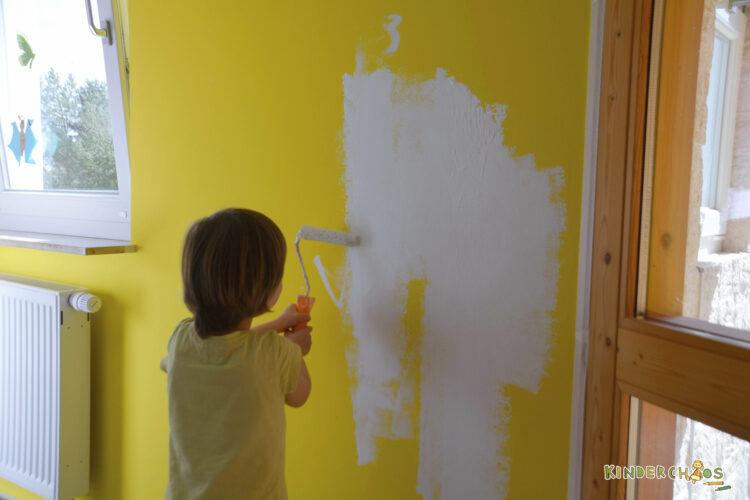 Alpina Farben Alpinaweiß Unsere Beste Farbenfreunde Froschgrün Einhornrosa Kinderzimmer Schulkind Schulkindzimmer renovieren neu streichen