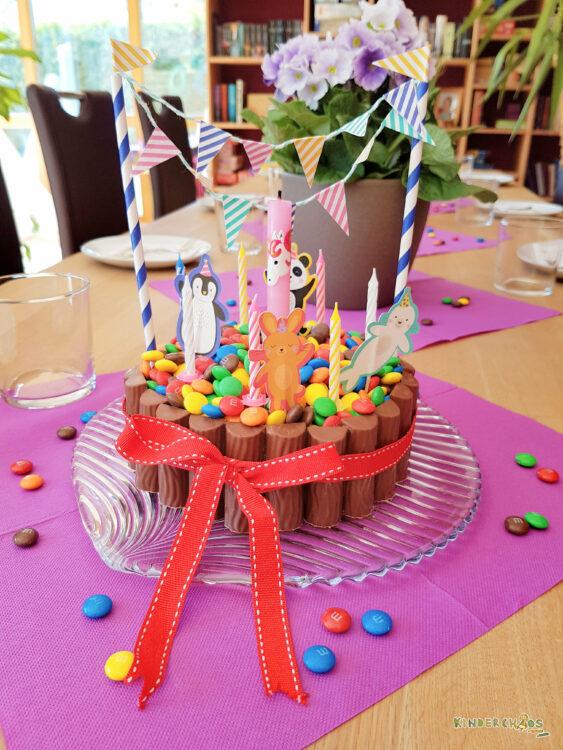 Geburtstagstorte Kinder M&Ms