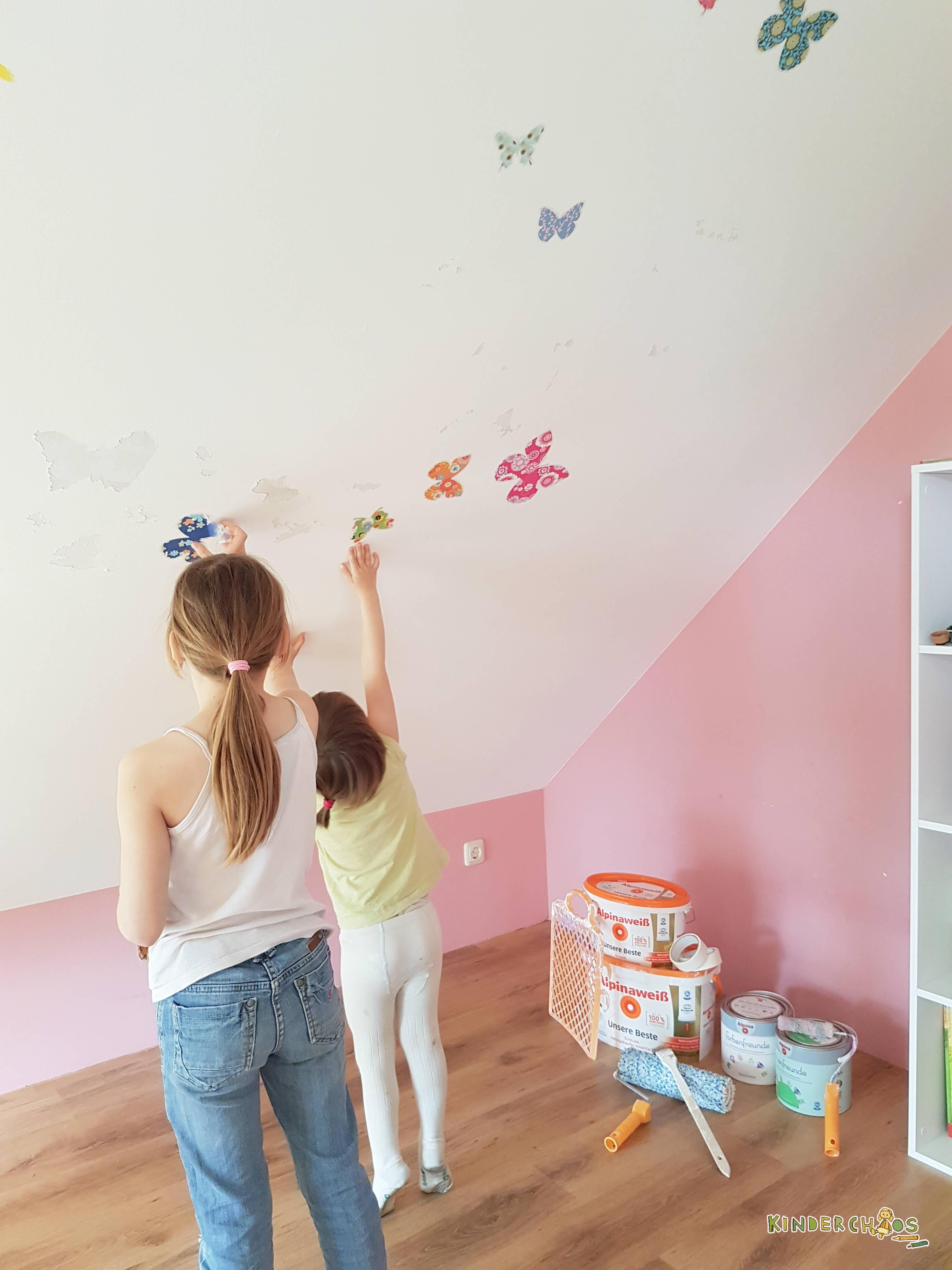 Alpina farbenfreunde aus leonies kinderzimmer wird ein for Kinderzimmer renovieren