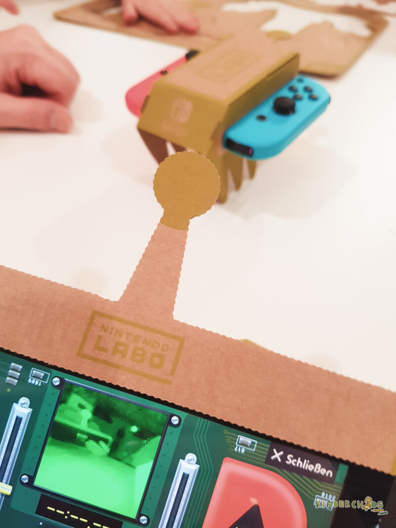 Nintendo Labo Fahrzeug