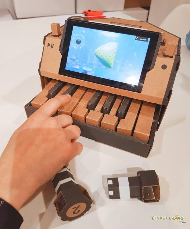 Nintendo Labo Workshop Toy-Con Multi-Set Robo-Set Werkstatt Switch