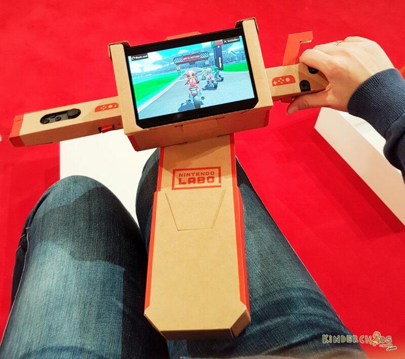 Nintendo Labo Motorrad
