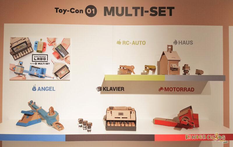 Nintendo Labo Toy Con Multi Set