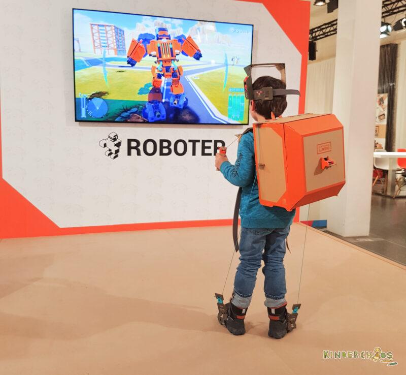 Nintendo Labo Toy Con Roboter
