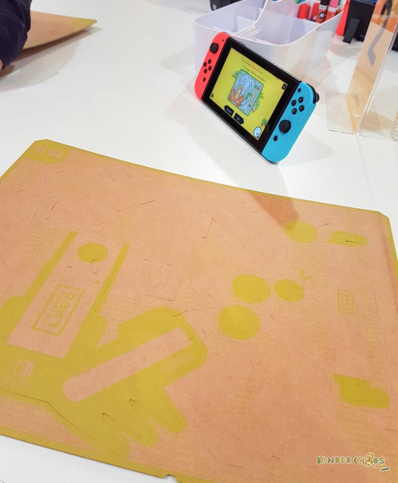 Nintendo Labo bauen