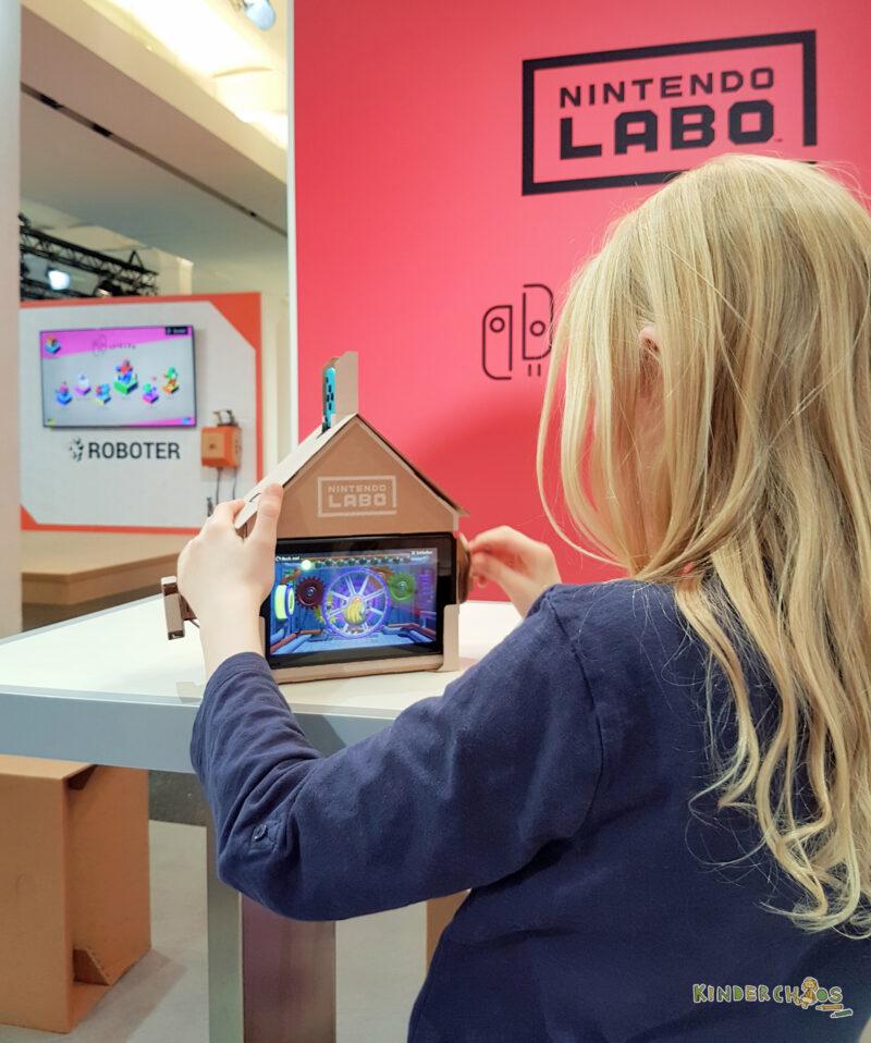 Nintendo Labo spielen Kinder
