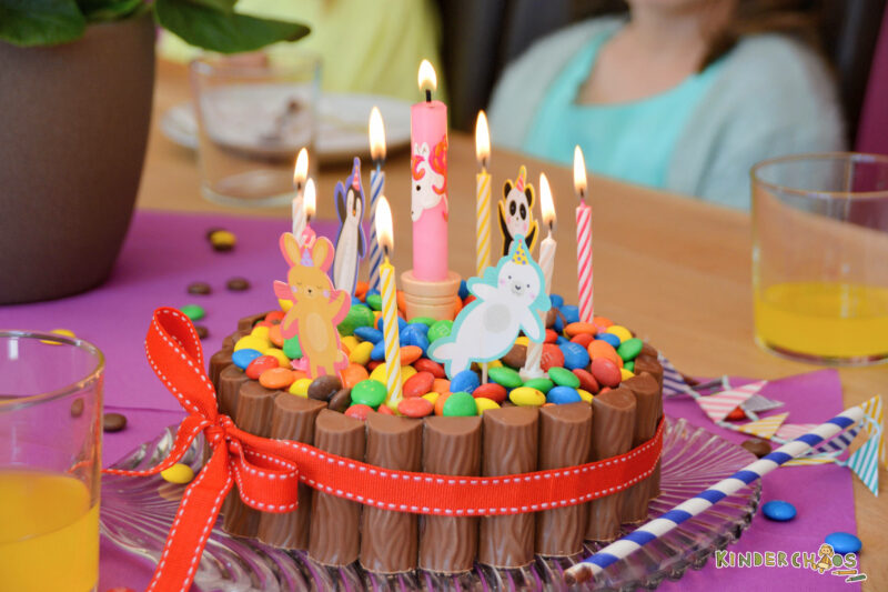 Schokoladenpool Torte Geburtstag Kind