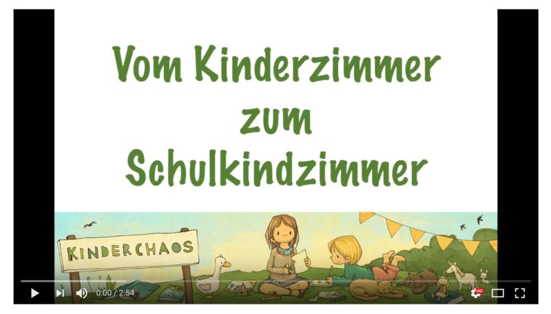 Vom Kinderzimmer zum Schulkindzimmer