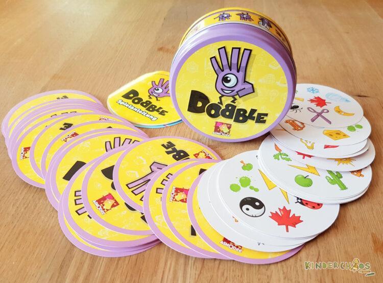Dobble Kinderspiel Partyspiel Reaktionsspiel Kinder Kartenspiel Gesellschaftsspiel