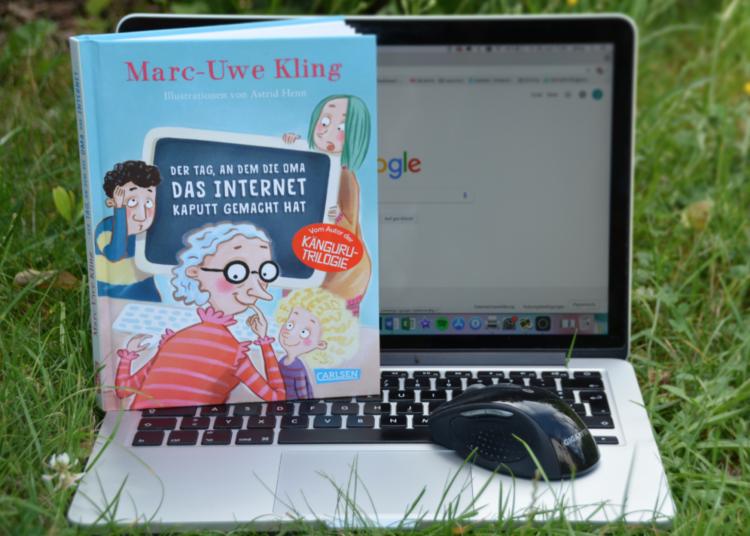 Marc-Uwe Kling Der Tag, an dem die Oma das Internet kaputt gemacht hat Carlsen Verlag Kinderbuch