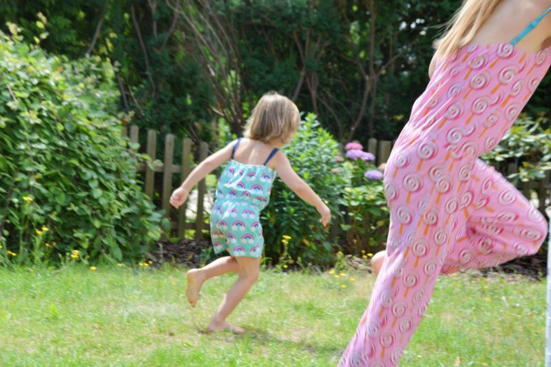 Maxomorra Fannyswelt Sommer Jumpsuit