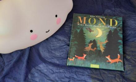"""""""Mond – Eine Reise durch die Nacht"""" von Britta Teckentrup + Verlosung"""