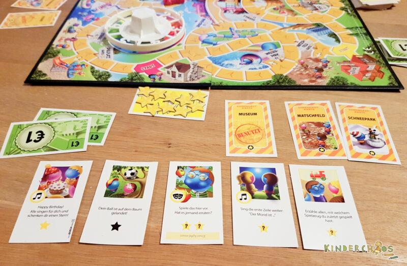 Spiel des Lebens Junior Kinderspiel