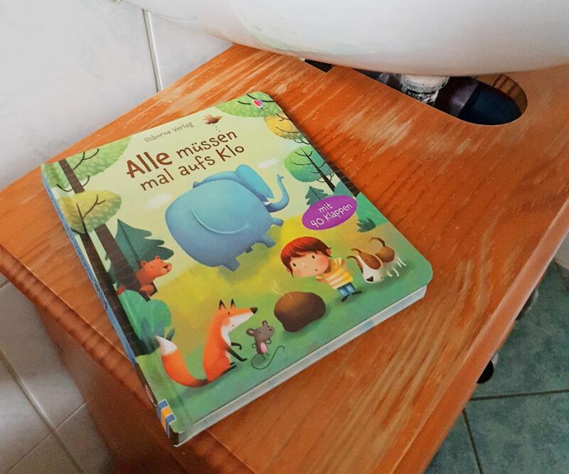 Alle müssen mal aufs Klo Kinderbuch