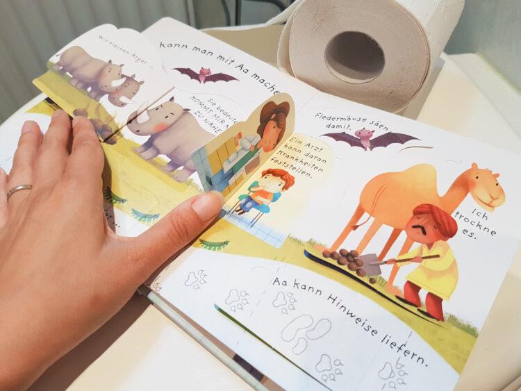 Alle müssen mal aufs Klo Toilette AA Pipi Kacka Kinderbuch Bilderbuch Sachbilderbuch Usborne Verlag