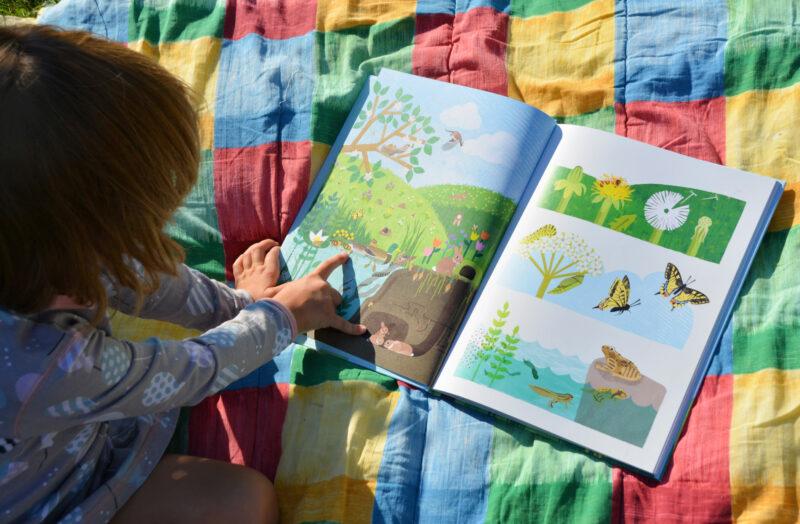 Ich erzähl dir die Welt Bilderbuch