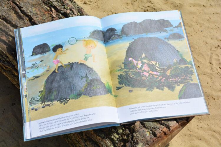 Kalle und Elsa ein Sommerabenteuer Bohem Kinderbücher Kinderbuch Bilderbuch Ostsee