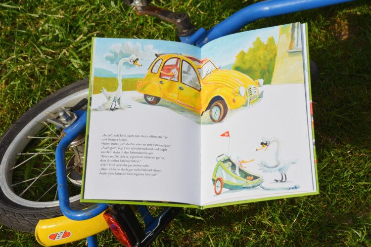 Klingeling Fahrradfahren ist entenleicht Günther Jakobs Kinderbuch