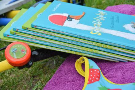 #Bilderbuchliebling: Schnabbeldiplapp und Klingeling von Günther Jakobs – Entenleichtes Fahrradfahren und Schwimmen lernen + Gewinnspiel