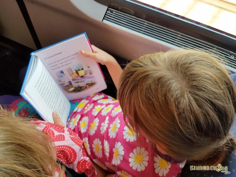 Lesen im Zug