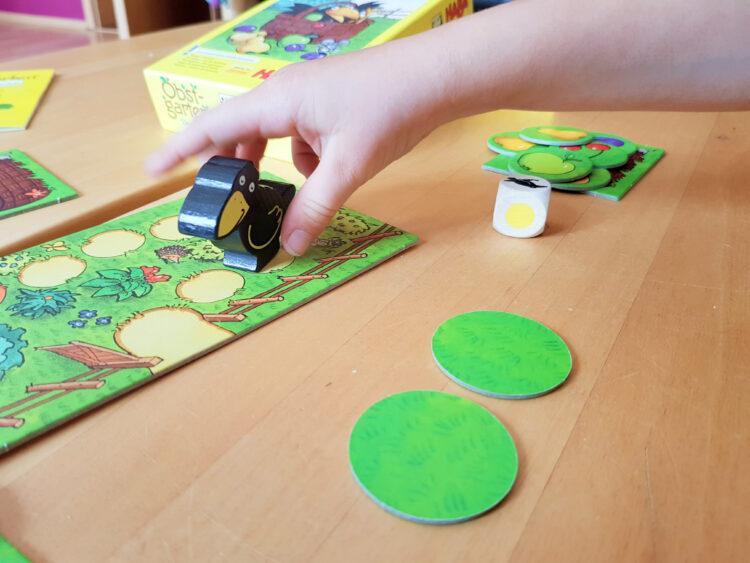 Haba Obstgarten Das Memospiel Mitnehmspiel Kinderspiel Gesellschaftsspiel