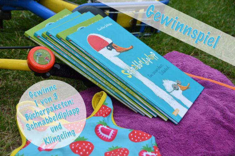 Schnabbeldiplapp Klingeling Günther Jakobs Carlsen Verlag Gewinnspiel