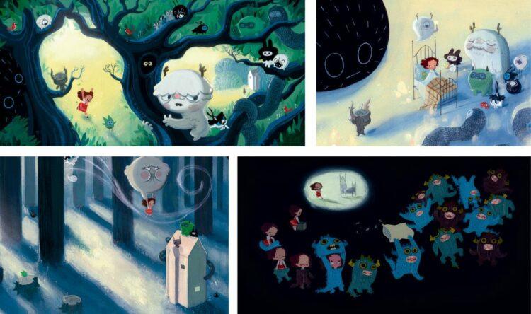 Die Wahrheit über Monster Kinderbuch Bilderbuch Tim Dowling Bohem