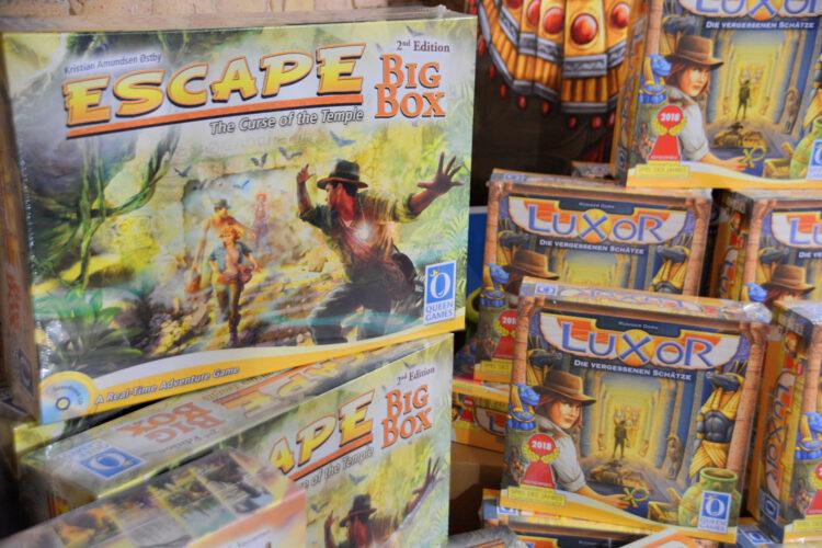 Berlin Brettspiel Con 2018 Brettspielmesse Gesellschaftsspiele Familienspiele Kinderspiele Queen Games Escape