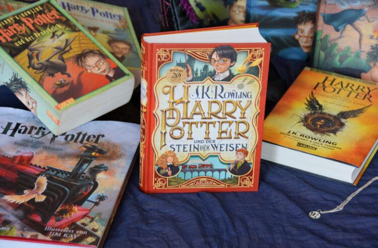 Blogparade Harry Potter und die Magie des Lesens Wir Harry Potter Kinder zu Lesern macht 20 Jahre Jubiläumsausgabe