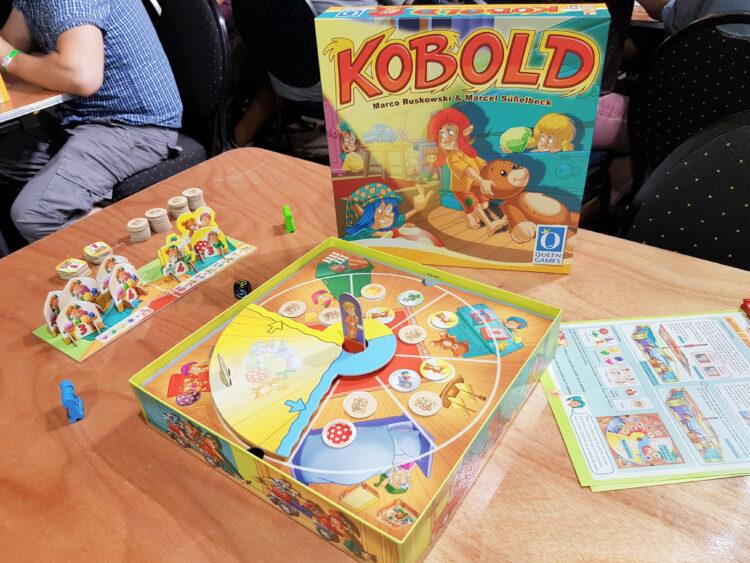 Berlin Brettspiel Con 2018 Brettspielmesse Gesellschaftsspiele Familienspiele Kinderspiele Queen Games Kobold