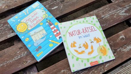 Rätseln gegen Langeweile auf Reisen: Mein dicker Ferien-Rätselblock + Natur-Rätsel im Wald