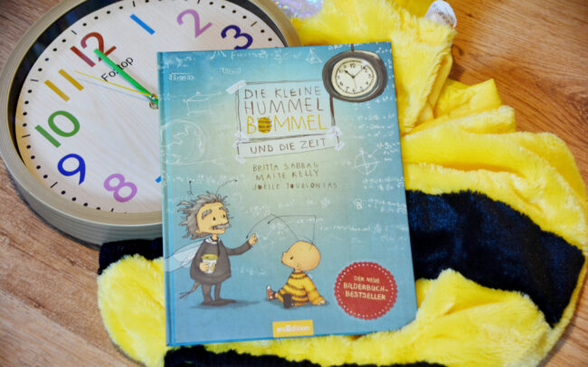Heute ein Buch! – Die kleine Hummel Bommel und die Zeit + Verlosung