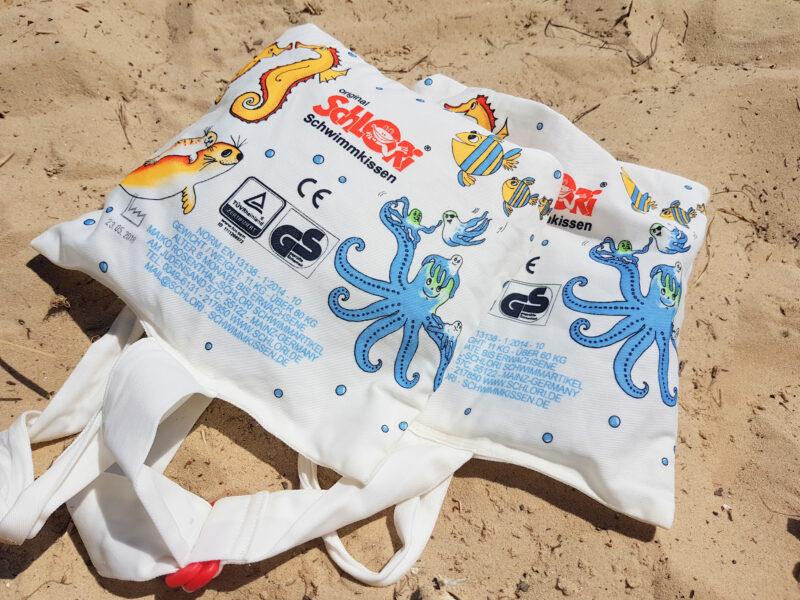 Schlori Strand schwimmen