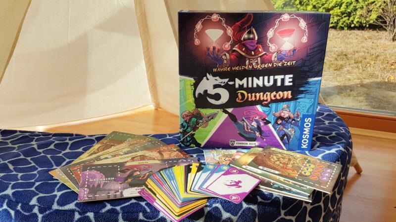 Unser neuestes Lieblingsspiel: 5-Minute Dungeon – im Kampf gegen die Zeit