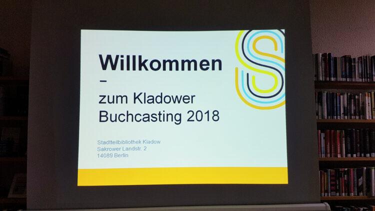 Kladower Buchcasting 2018