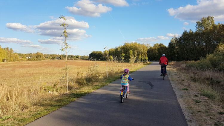 Geocaching Fahrradtour mit der Familie