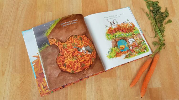 Ich liebe Möhren Kinderbuch