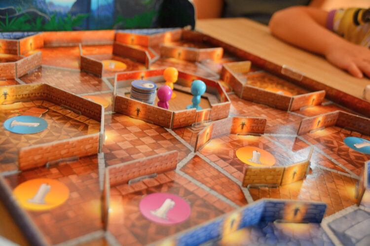Das Spielfeld von Kakerlacula