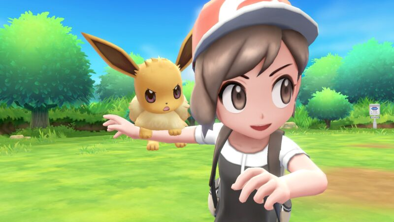 Nintendo Switch Pokémon: Let's Go! – Unser Kreativgewinnspiel mit Evoli