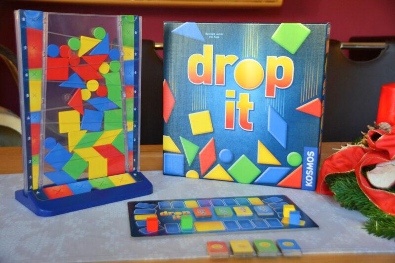 Drop it – Bunter Spielspaß für Kinder und die ganze Familie + Verlosung