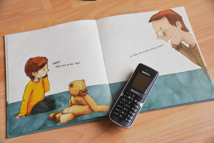 Hallo? Hallo, Papa! Bilderbuch